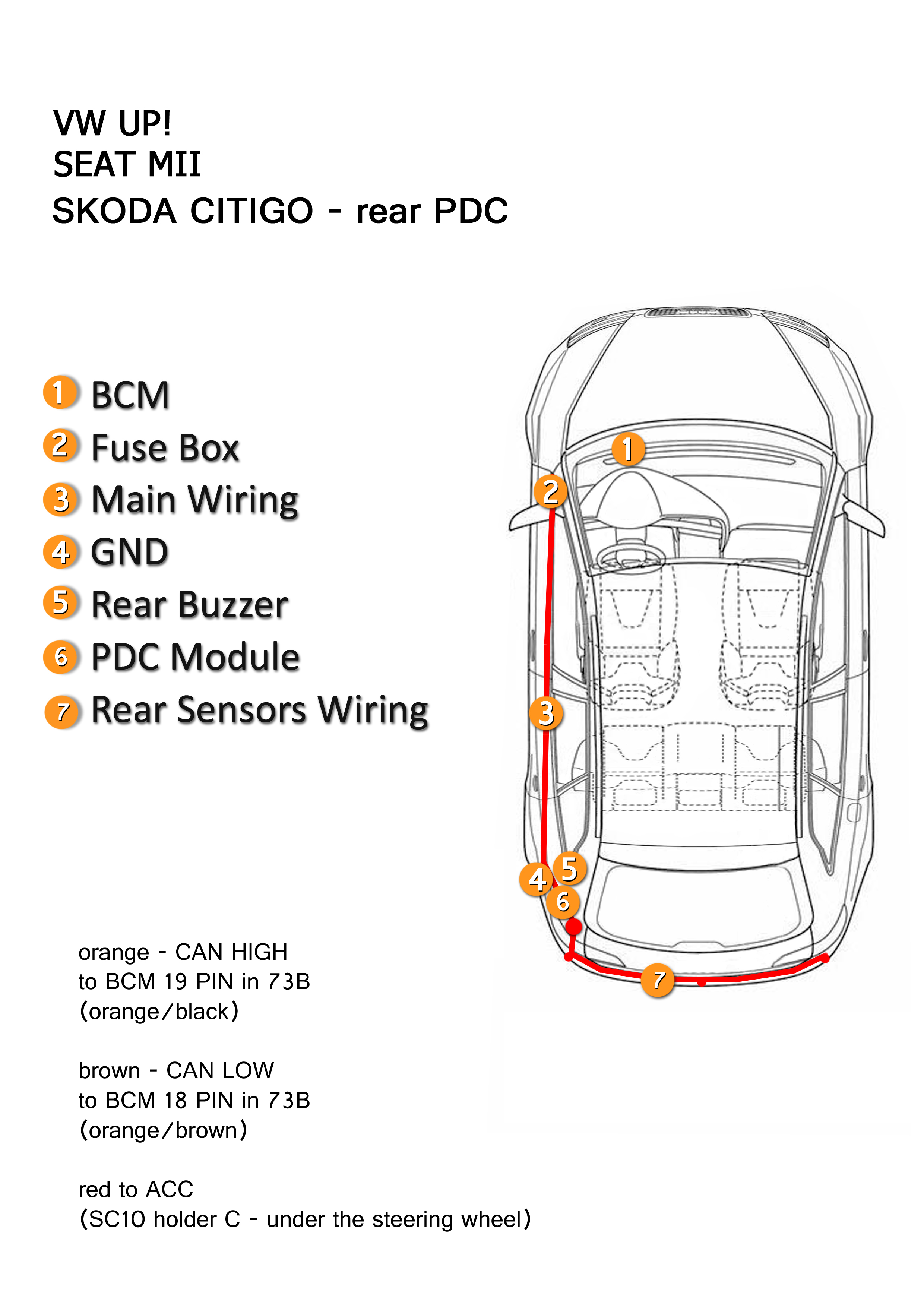 Vw Up Fuse Box Location Schematic Diagrams Volkswagen Wiring Diagram Pdc Seat Mii Skoda Citigo 2000 F150