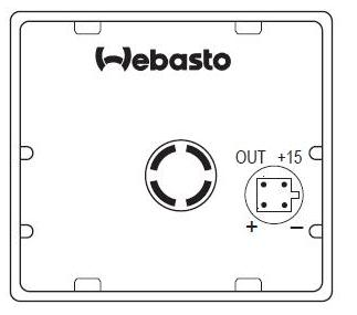 Webasto - Manual how connect T91 T100 with Timer 1530